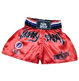 758a7aaf3 Short Muay Thai Kids no Mercado Livre Brasil