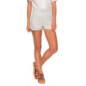 2c9f350023 Shorts Mujer Bolsillo Delanteros Talle Alto Cintura Roxy