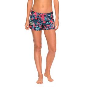 5ba9456c859c Shorts Mujer Estampado Flores Tropicales Multicolor Roxy
