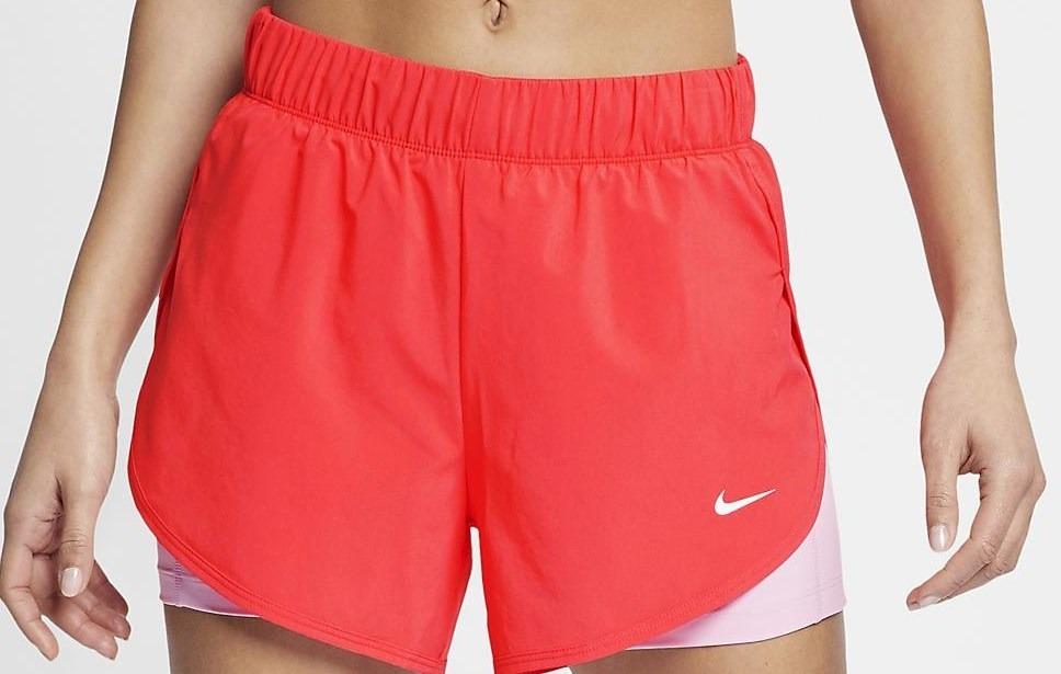 shorts nike feminino flex 2in1 woven fem ar6353 rosa lilas. Carregando zoom. 008533e853bb8