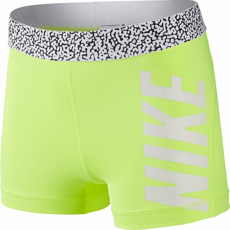 Shorts Nike Pro 3 Mezzo Waistband Compressâo Feminino Origi