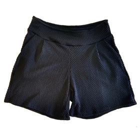 Shorts Plus Size Canelado