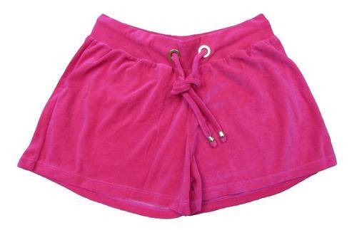 shorts plush pink