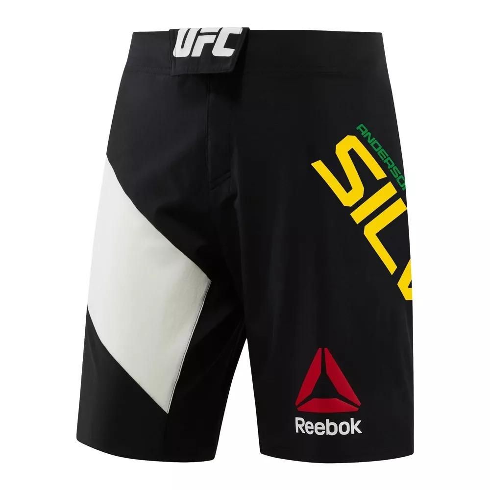 242cc4cf92a07 Shorts Reebok Ufc - Anderson Silva 42 - R  125