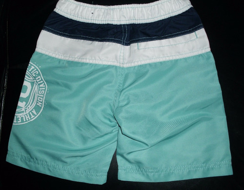 shorts - ropa de baño niño marca acqua & co talla 6 . brasil