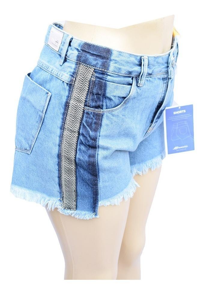 97640df9d177f shorts sawary jeans boyfriend 100% algodão - 255898. Carregando zoom.
