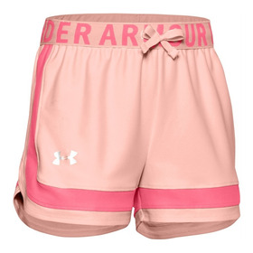 Shorts Under Armour Ninas Rosa 1351716-845