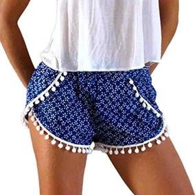 ccca8ec620c6 Shorts Pompom Feminino no Mercado Livre Brasil