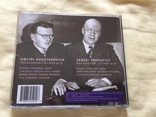 shostakovich / prokofiev conciertos de piano!!!