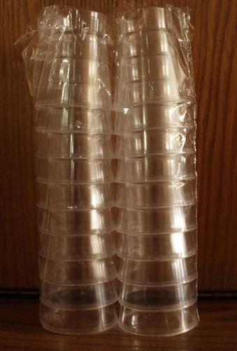shot plásticos para postres 1.5 onzas
