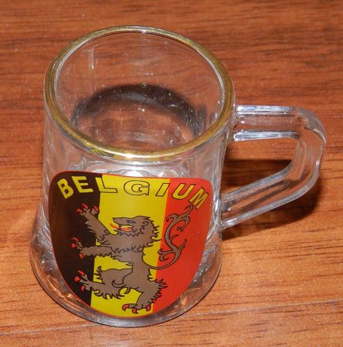 shot / vaso original de bélgica