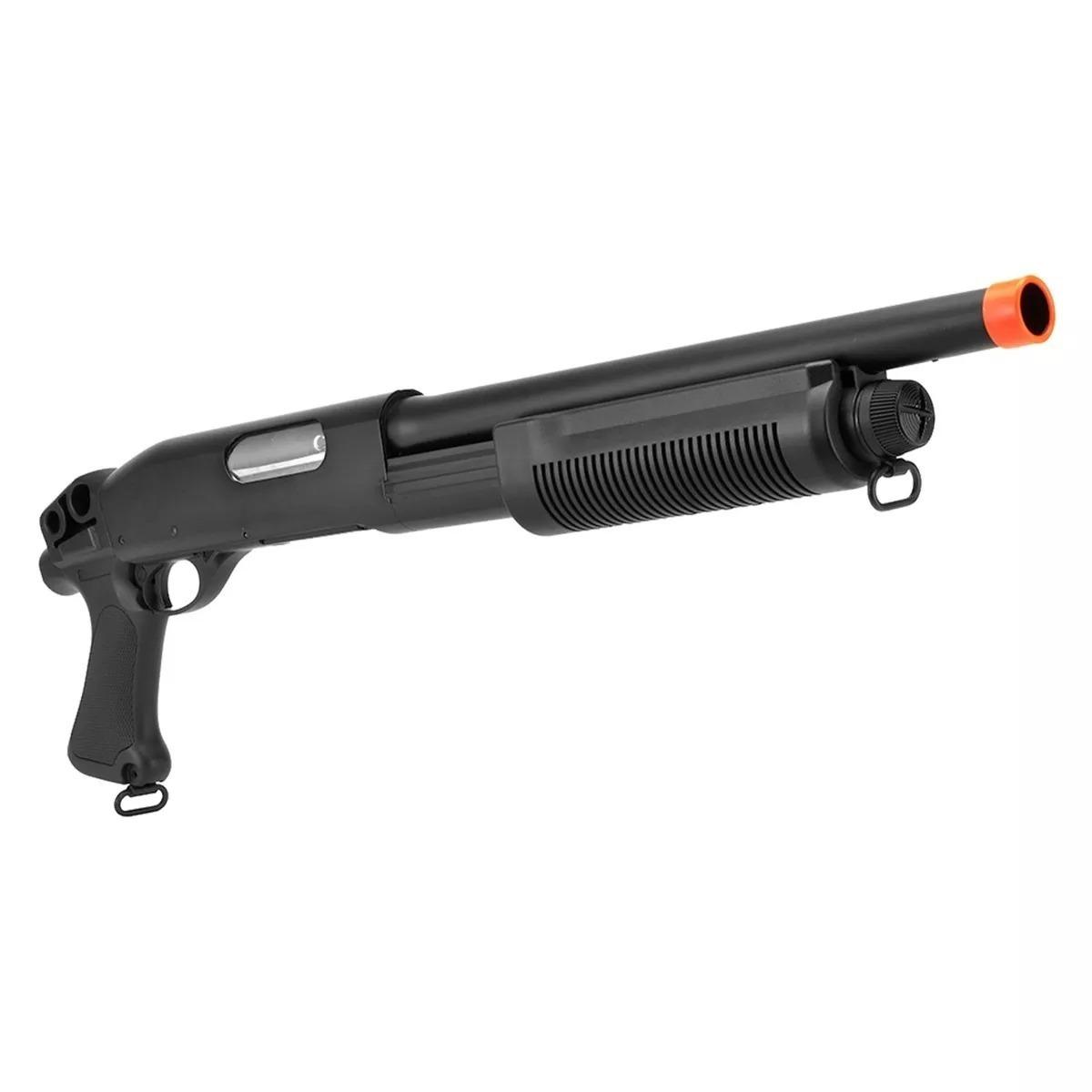 Shotgun Airsoft Cyma Cm351 Modelo M870 Metal Calibre 12