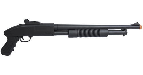 shotgun escopeta airsoft spring 280 fps pump zm61 cyma 6mm