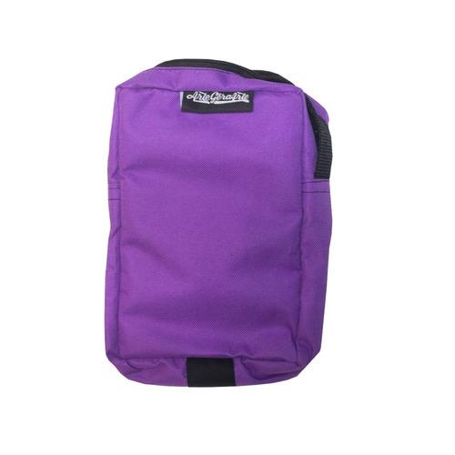 shoulder bag bolsa tipo carteira pochete unissex roxo aga