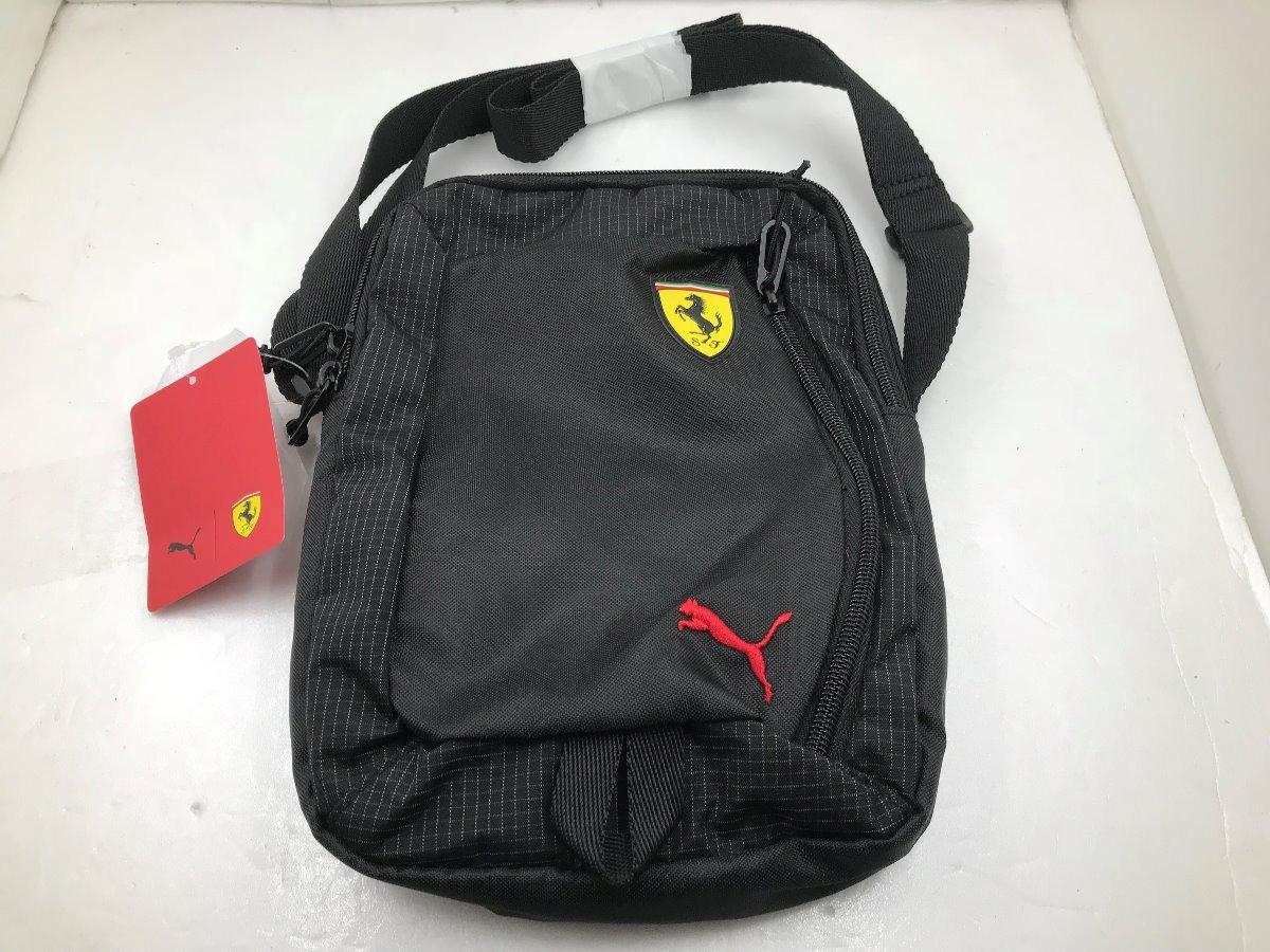9c6fee28cb Shoulder Bag Puma Ferrari Fanwear Portable Bag Black - R$ 149,00 em ...