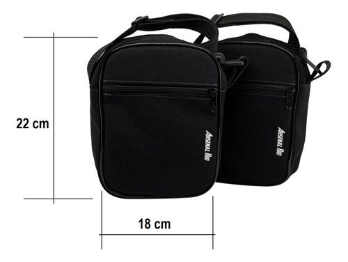 shoulder bag rip stop bolsa transversal tática arsenal rio
