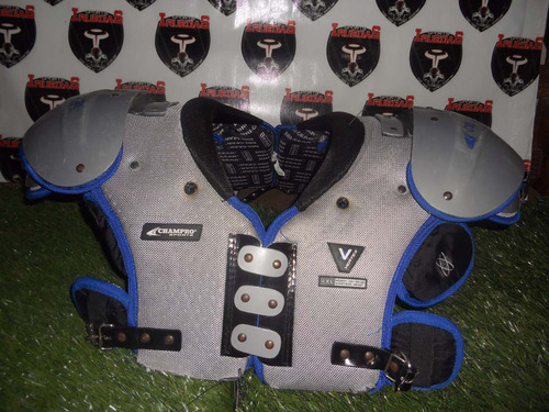 shoulders champro 17-18 futbol americano #ju765