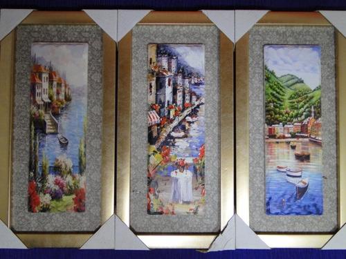 show   03 quadros juntos italia florença veneza genova roma