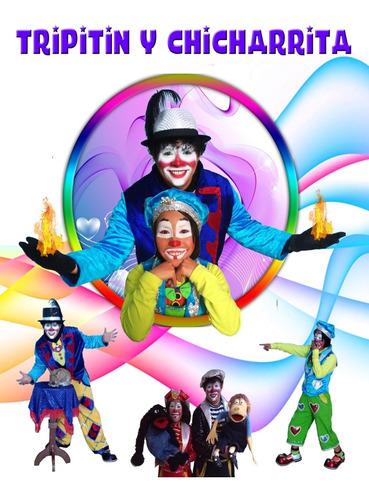 show 2 payasos, payaso mago, fiestas infantiles y eventos