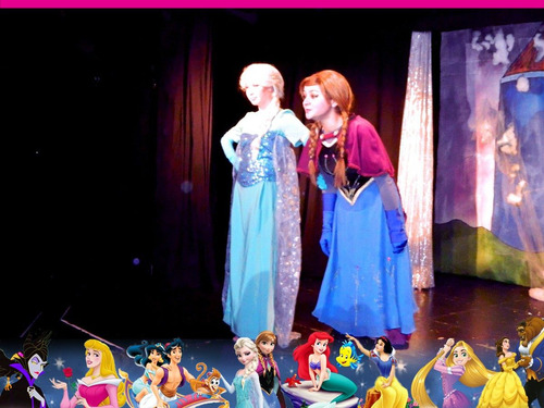 show animación frozen rapunzel maléfica blancanieves sofia