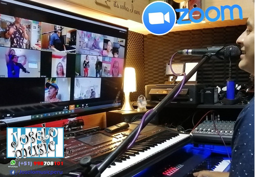 show animación orquesta virtual online zoom
