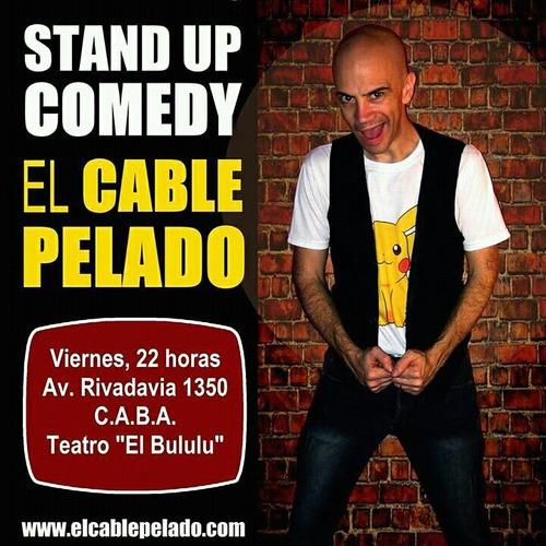 show animacion stand up musical - el cable pelado