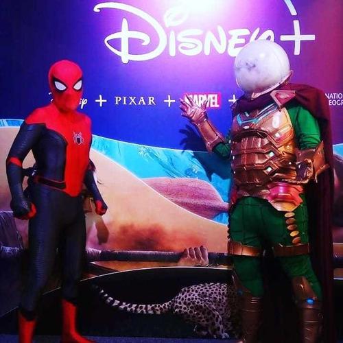 show animaciones de spiderman y los vengadores -a todo bs as