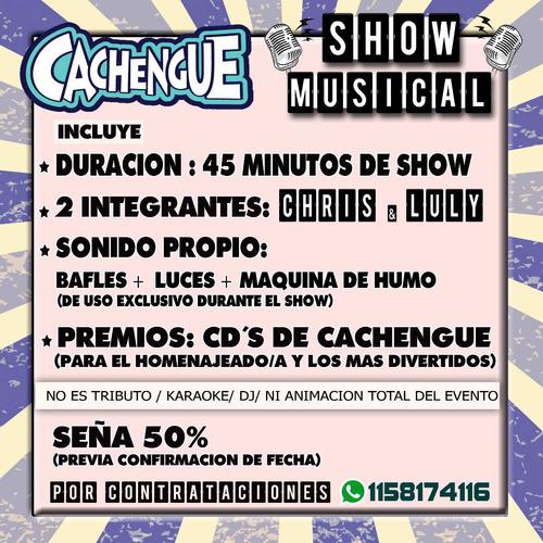 show cachengue fiestas 15 bodas covers cumbia pop reggaeton