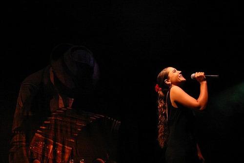 show cantante jazz, eventos,