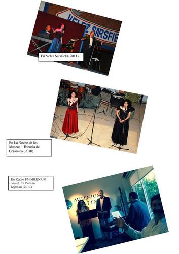 show cantante lirico opera soprano tenor canzonetta eventos