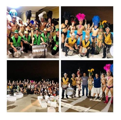 show carnaval batucada comparsa eventos casamientos cumples