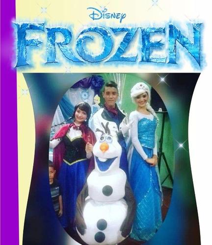 show  coco, frozen, moana,  princesas heroes, recreacion