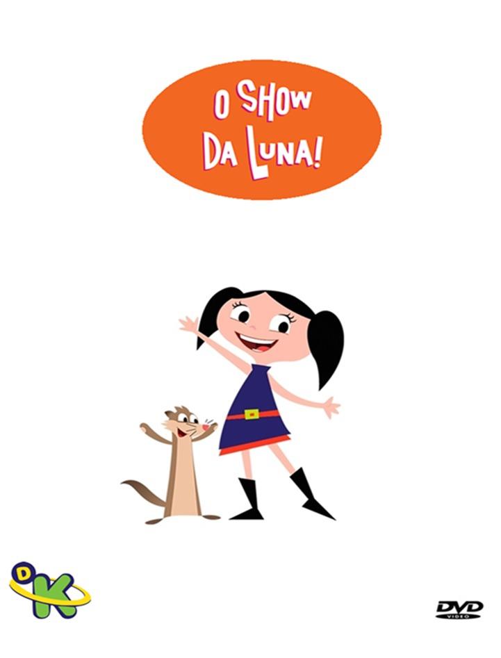 show da luna desenho dvd frete grátis r 29 99 em mercado livre