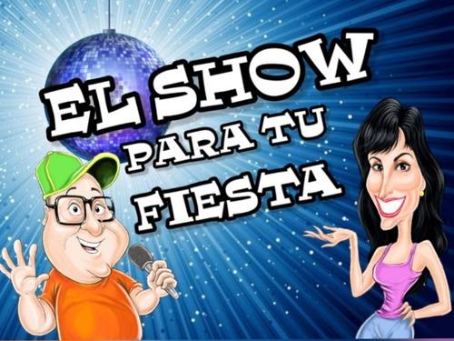 show de animación karaoke humor juegos dj discjokey cantante