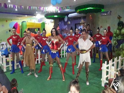 show de baile (princesas, la mascara, lol, mujer maravilla)