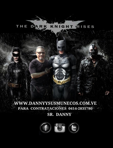 show de batman caballero de la noche (el original) eventos