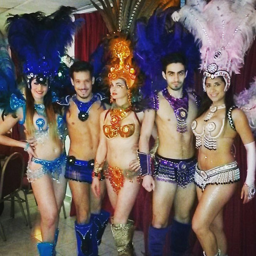 show de carnaval trajes de carnval comparsa