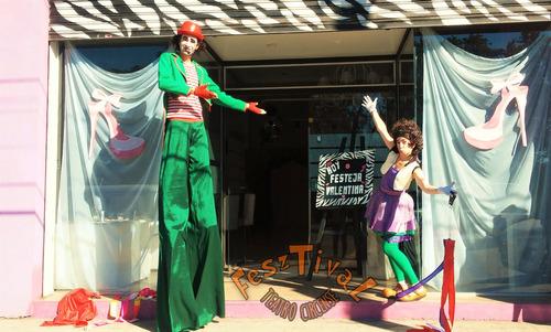 show de circo!!! zanquistas - recepciones- eventos!!!