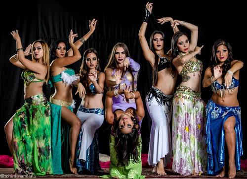 show de danza árabe tatiana fragiel productions