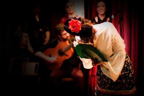 show de flamenco para eventos - música y danza en vivo