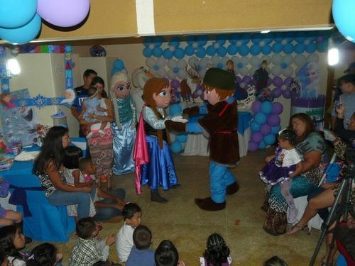 show de frozen para fiestas infantiles alquiler