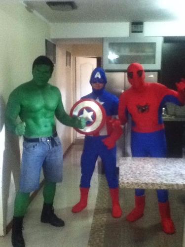 show de hulk y avenger