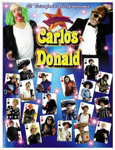 show de imitadores imitadoras comediantes cómicos en toluca