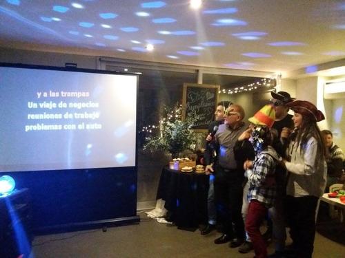 show de karaoke, cabina de fotos, dj, kermese, magia y humor