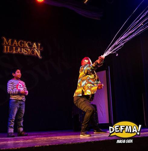 show de magia en peru con defma geek / shows infantiles