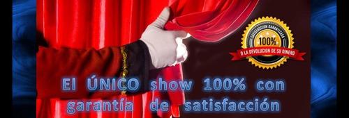 show de magia infantil cdmx magos profesionales