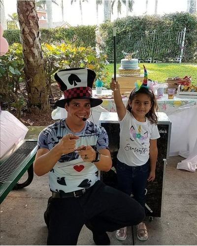show de magia infantil mago para niños cumpleaños via zoom