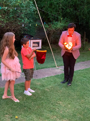 show de magia infantil (mago, recreación, diversión, cumple)