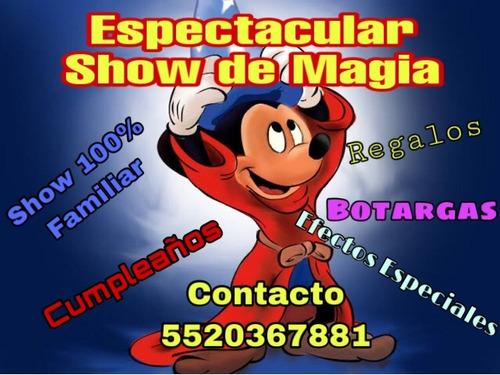 show de magia infantil magos cdmx fiestas infantiles