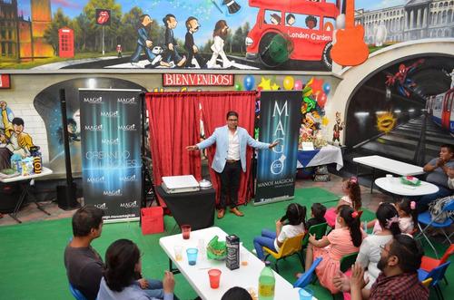 show de magia internacional. mago manos mágicas